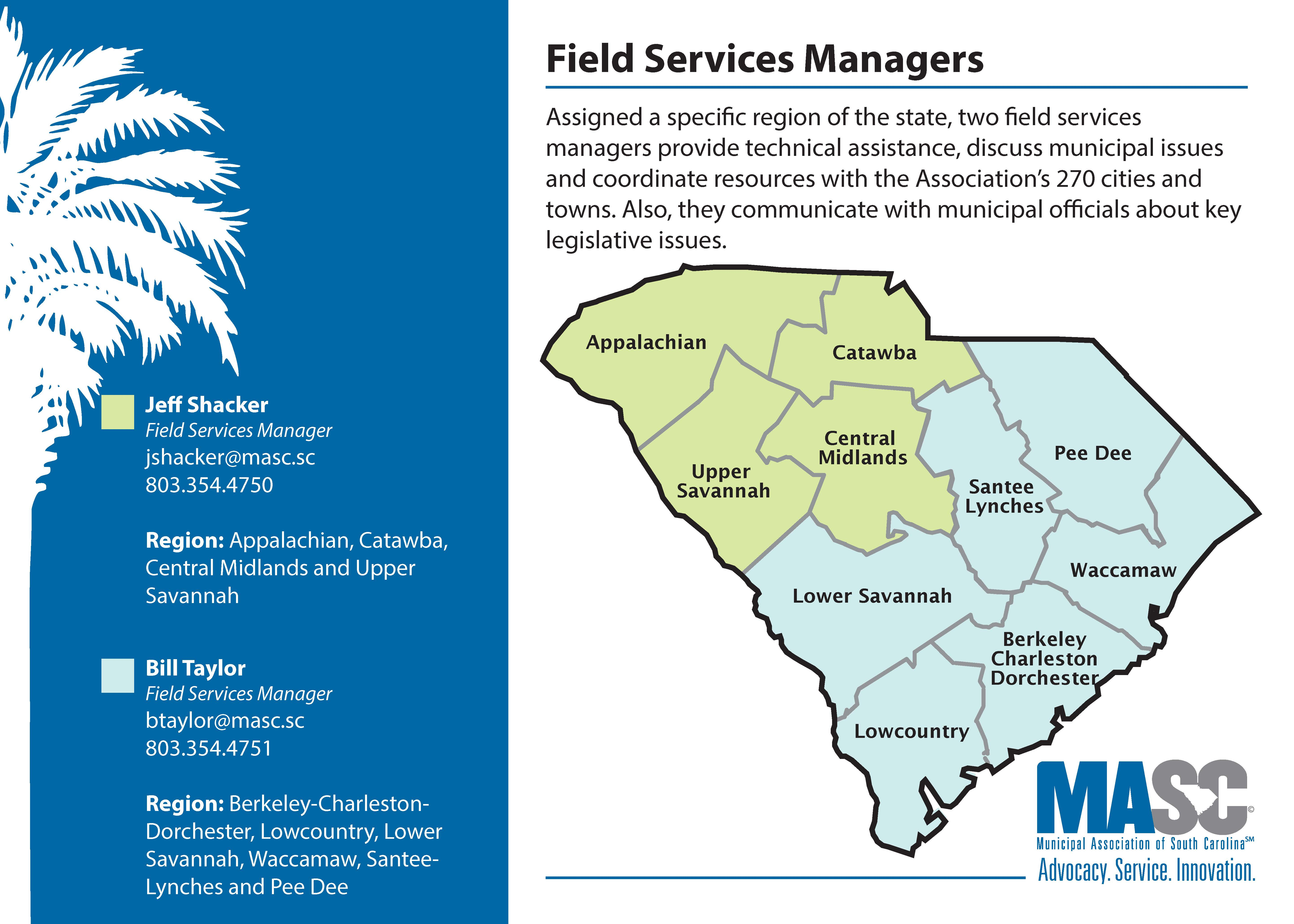 Field Services Manager Map