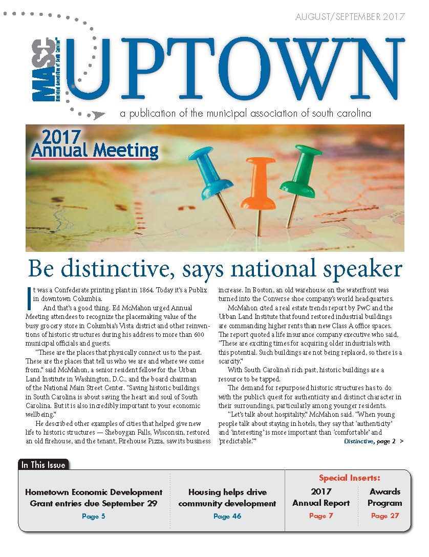 Uptown August-September Cover