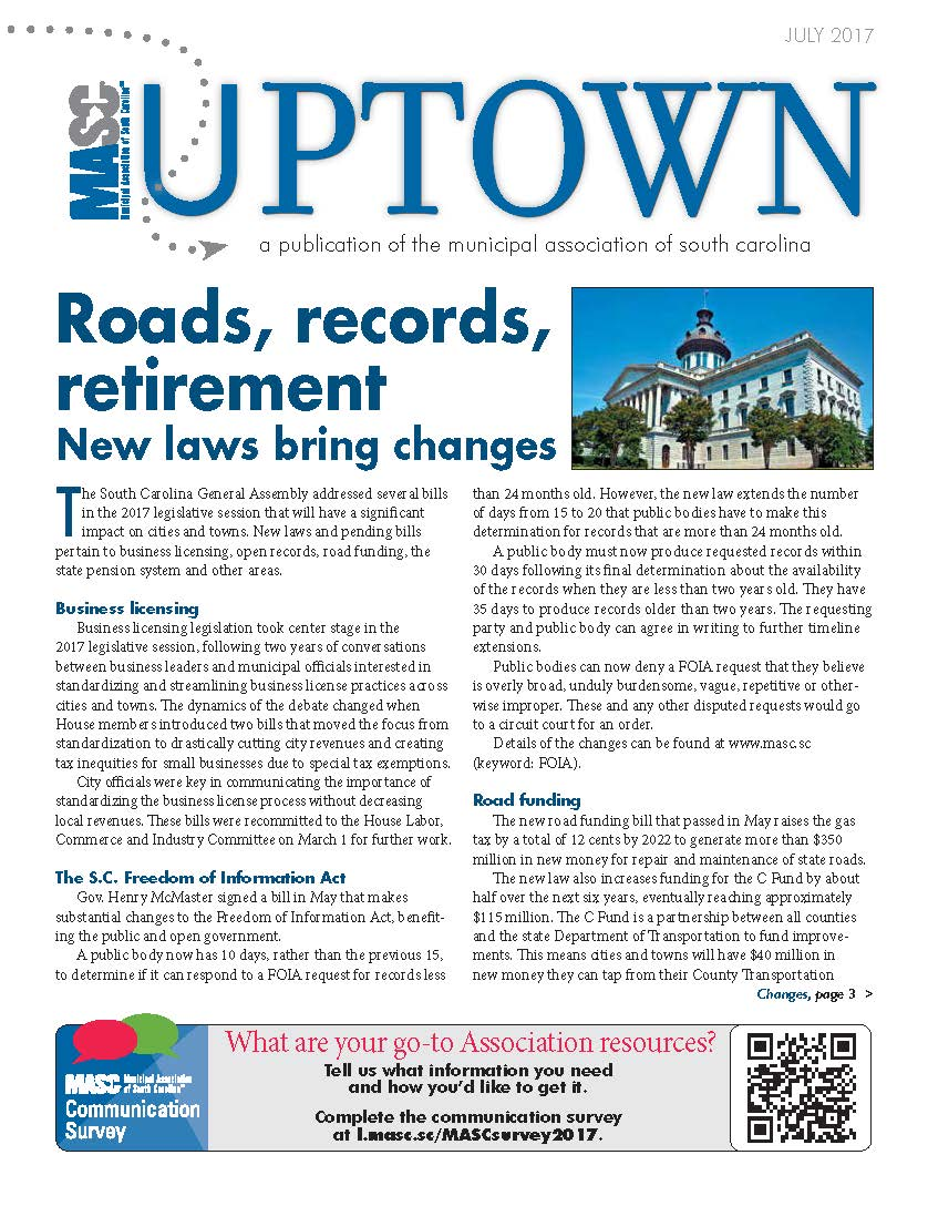 Uptown June 2017 cover