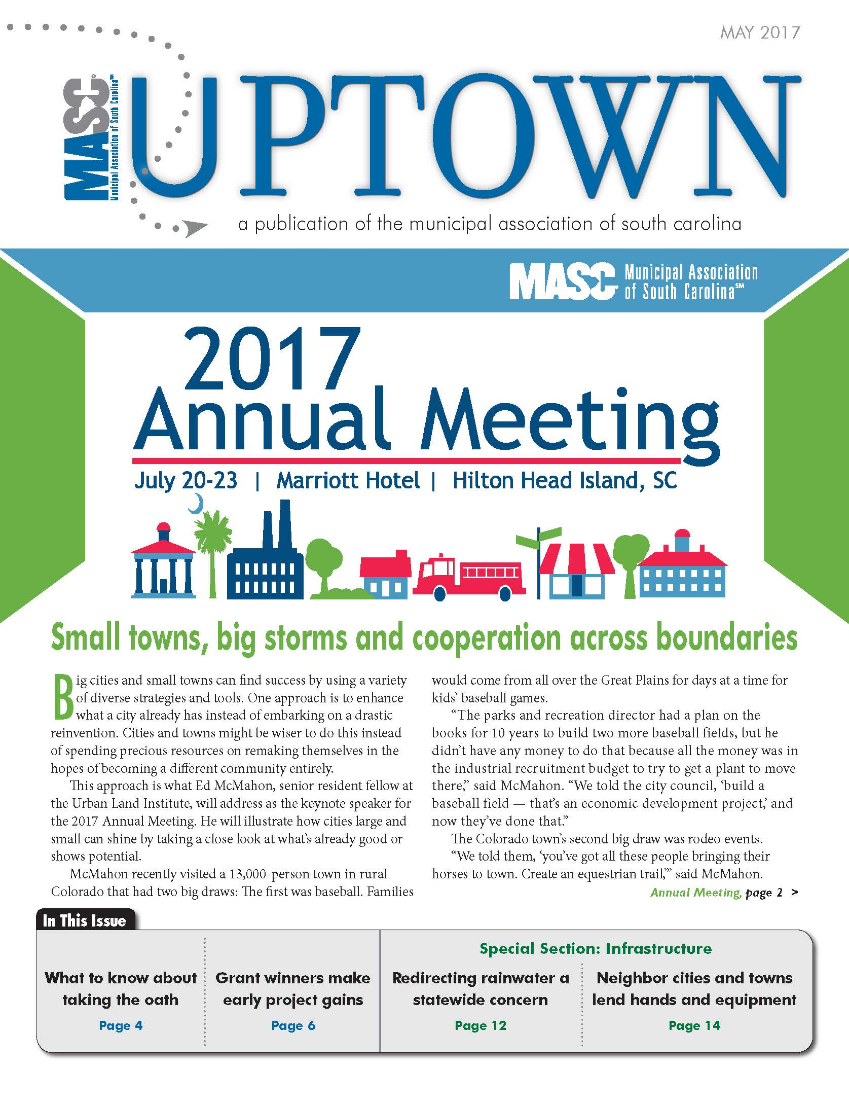 Cover of May 2017 Uptown