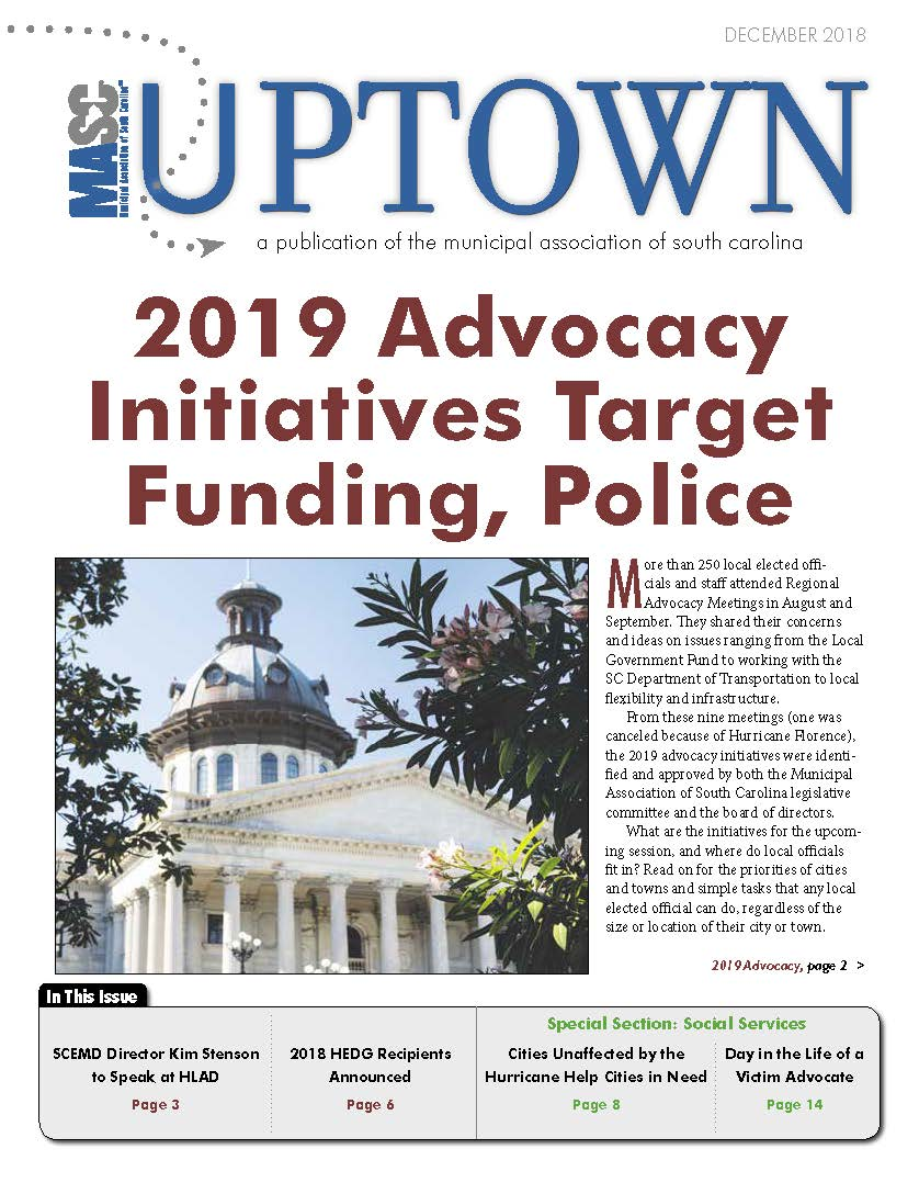 Uptown December 2018 Cover