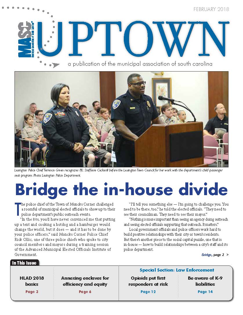 Uptown February 2018 Cover