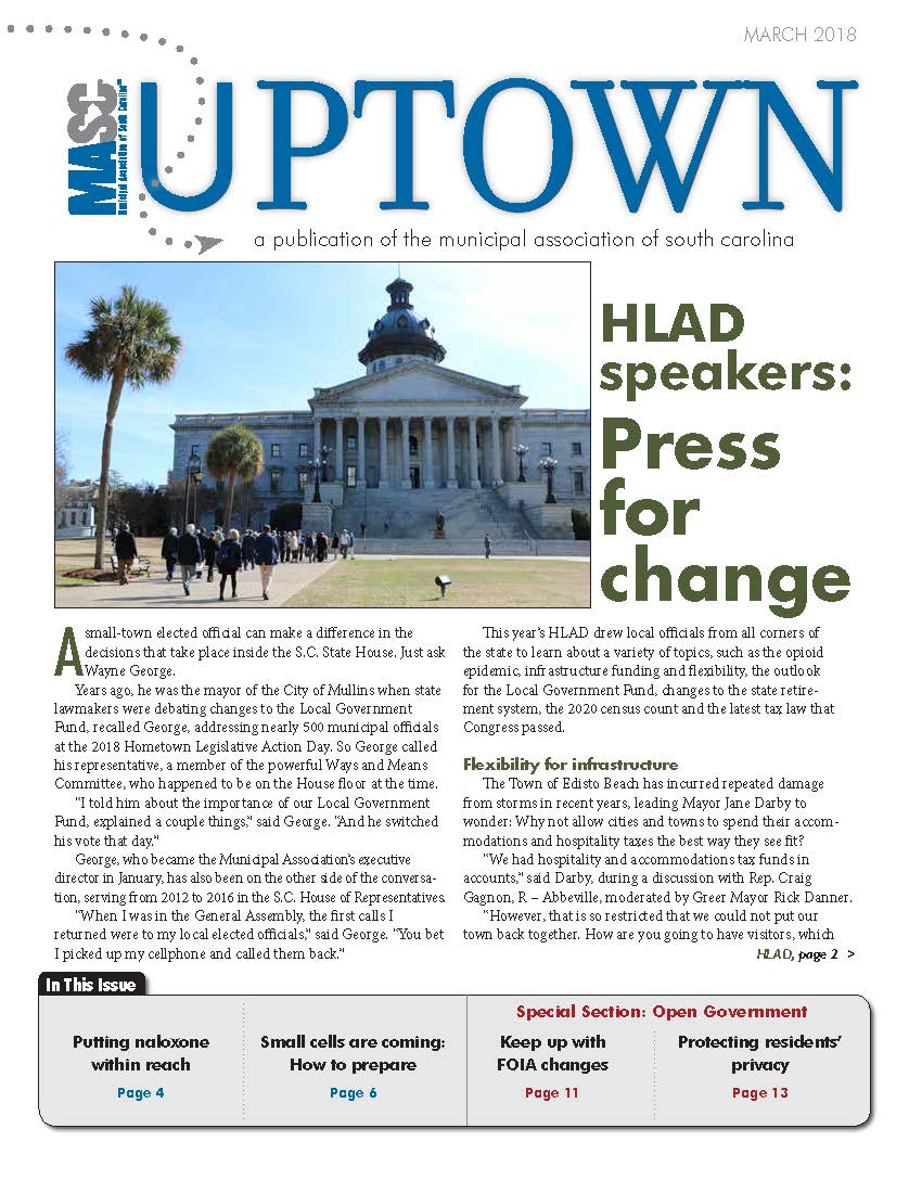 Uptown March 2019 Cover