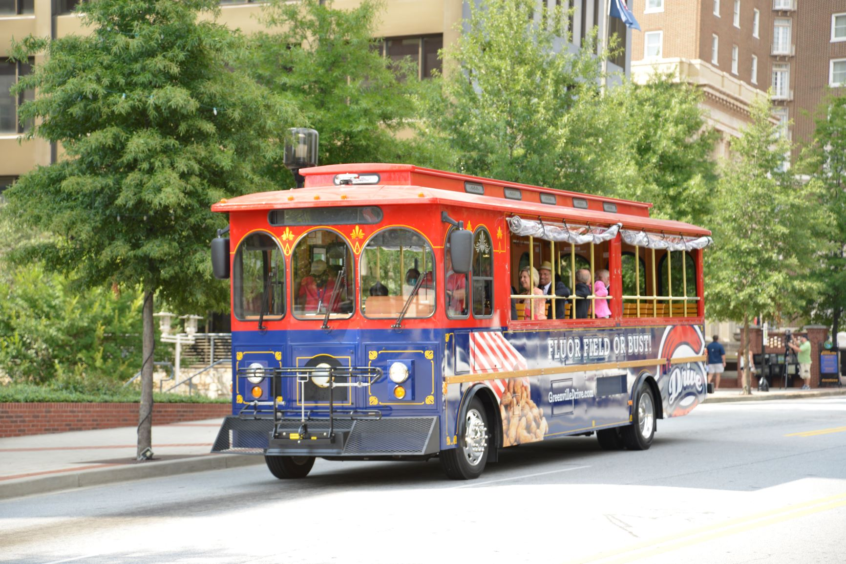 City of Greenville trolley
