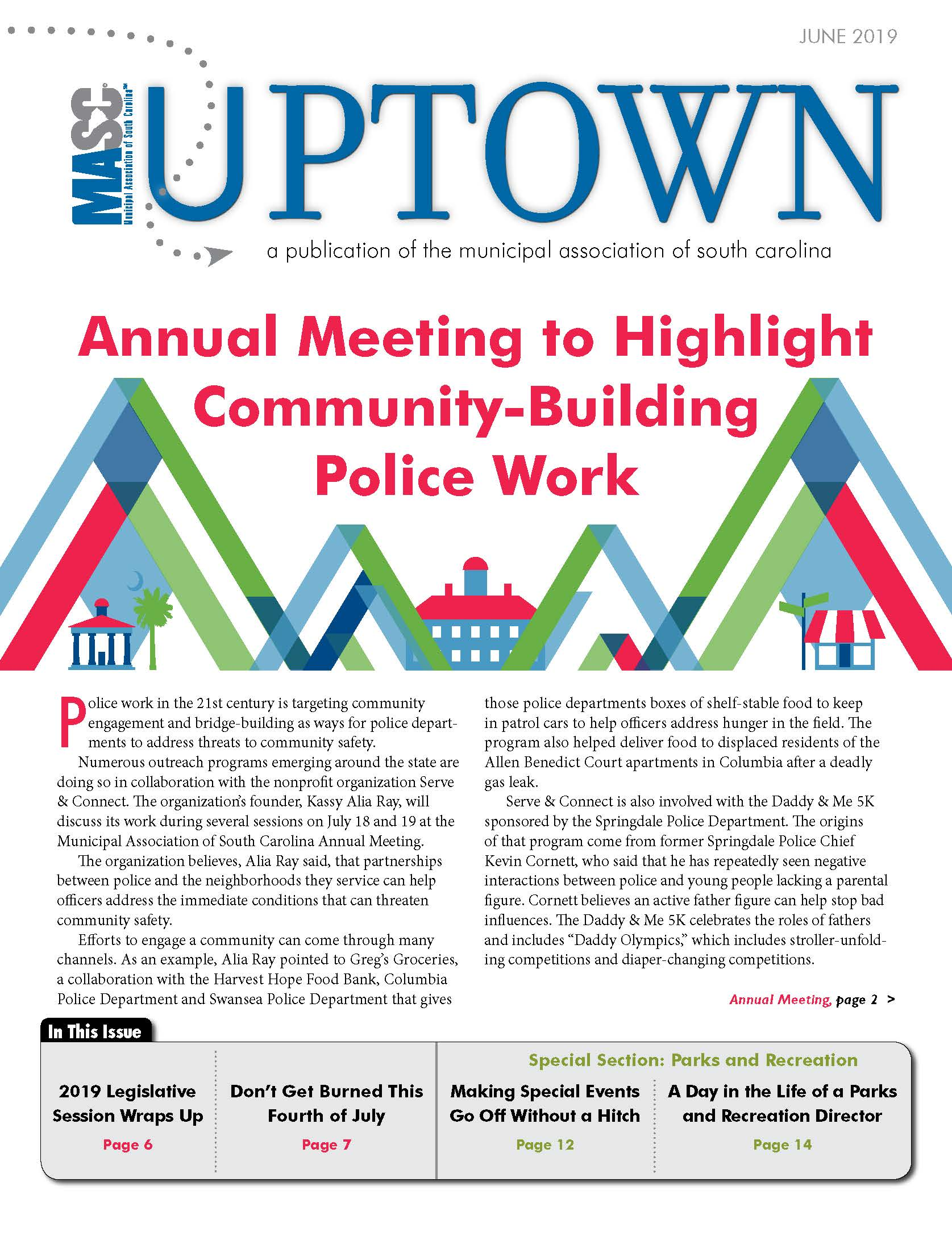 June 2019 Uptown Cover