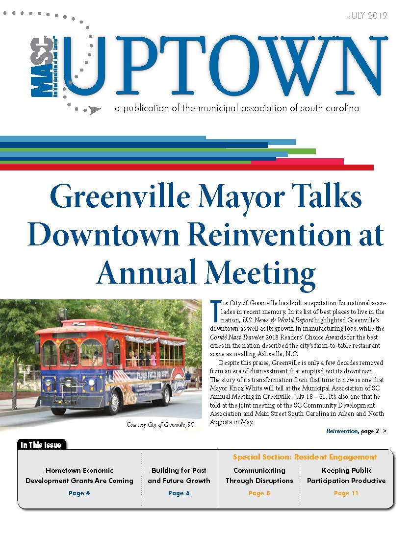 Uptown July 2019 Cover
