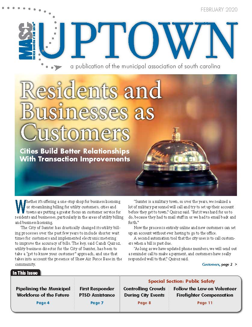 Uptown February 2020 Cover
