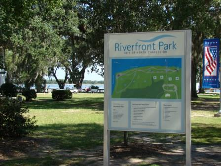 Riverfront Park in North Charleston